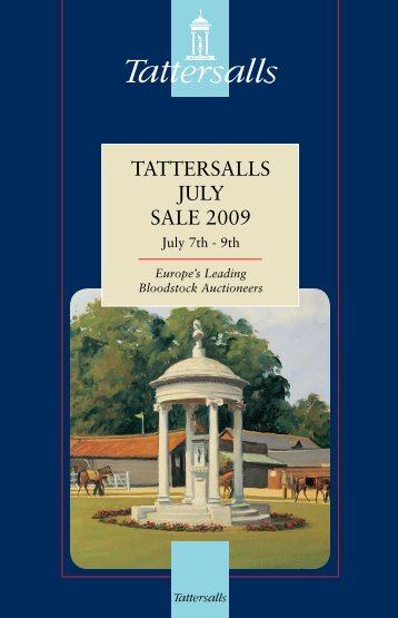 Tattersalls July Sale 2009