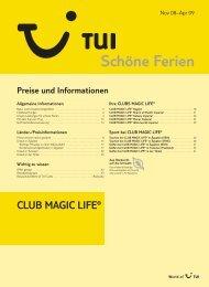 CLUB MAGIC LIFE® Preise und Informationen - tui.com ...