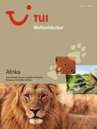 TUI - Weltentdecker: Afrika - Winter 2009/2010 - TUI.at