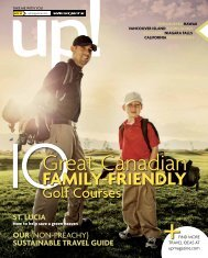 FAMILY-FRIENDLY - WestJet's up! magazine
