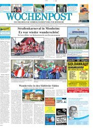 Monheim 07-13 - Wochenpost
