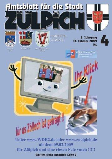Amtsblatt0409.pdf - Stadt Zülpich
