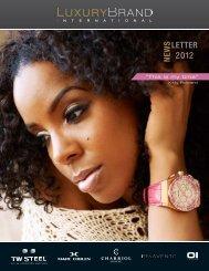 LETTER 2012 NEWS - Luxury Brand International