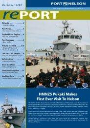 December 2009 (pdf) - Port Nelson