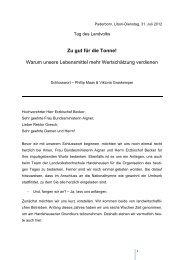 Abschlussrede Viktoria Graskemper & Phillip Maas - Katholische ...