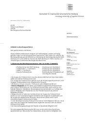 Infoblatt zu Berufungsverfahren - HAW Hamburg