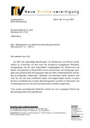 Sprecher des Landesverbandes: Landesverband Berlin, den 15 ...