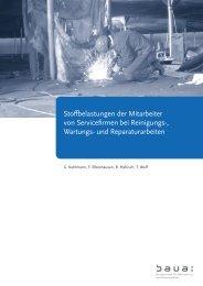 PDF-Datei, 2 MB - Bundesanstalt für Arbeitsschutz und Arbeitsmedizin