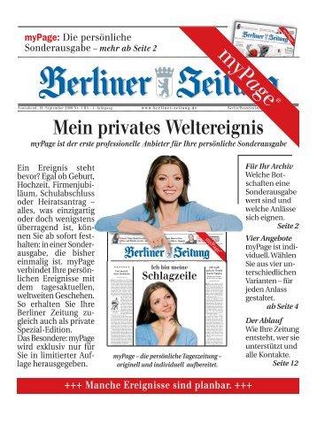 Berliner Zeitung Pdf