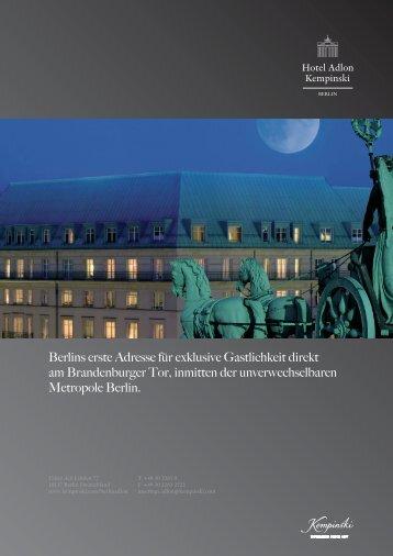 Factsheet Adlon (PDF) - Berlin Locations