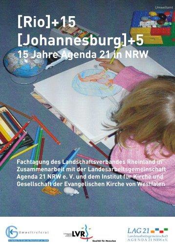 [Rio]+15 [Johannesburg]+5 - Landschaftsverband Rheinland
