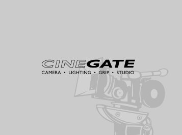 Cinegate Studio Guide (pdf) - mastermoves