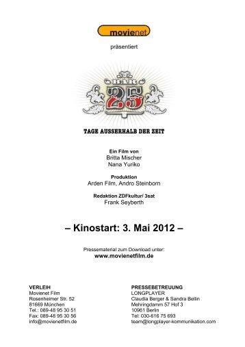 Presseheft (dt.) - Central-Kino