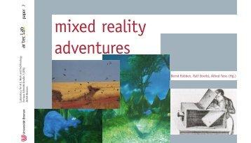mixed reality adventures - artecLab - Universität Bremen