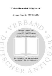 PDF-Download - Verband Deutscher Antiquare e.V.