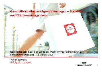 Engel & Völkers Retail Services - Leben findet Innenstadt