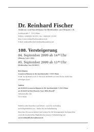 108. Versteigerung - Dr. Reinhard Fischer Briefmarken Auktions