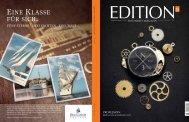 EINE KLASSE FÜR SICH - edition - das werte magazin