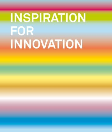 inspiration for innovation - PRO INNO Europe