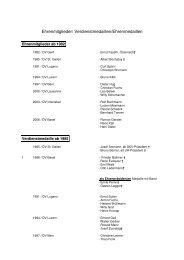 Ehrenmitglieder - Verdienstmedaille 2009 - Hotel & Gastro Union