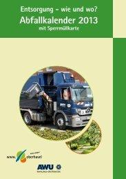 Abfallkalender 2013 (PDF zum Download) - Landkreis Oberhavel