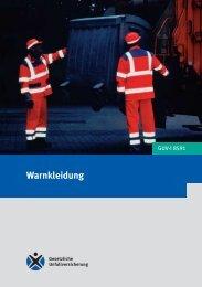 GUV-Information Warnkleidung GUV-I 8591