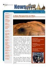 KLICKEN um den Newsletter November der Deutschen
