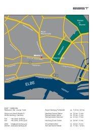 east Hamburg - map & directions - EAST Hotel Hamburg