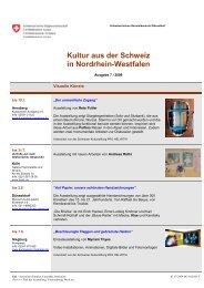 Kultur Aus Der Schweiz In - das SEEWERK