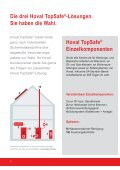 Hoval TopSafe® «Perfekter Investitions- schutz ... - Hoval Herzog AG - Seite 4