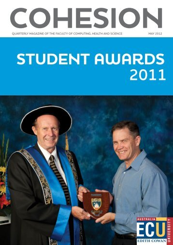 COHESION May 2012 Student Awards Supplement - Edith Cowan ...