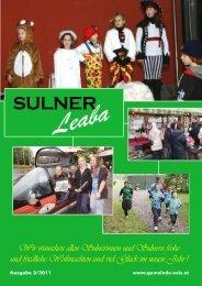 Gemeindezeitung 3/11 - Gemeinde Sulz