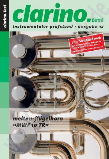 Clarino-Test Testbericht Melton MWF 10T - Reisser Musik