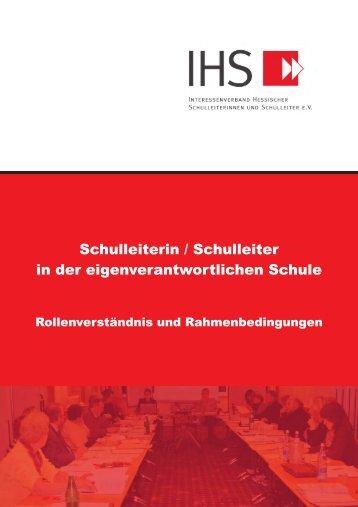 Schulleiterin / Schulleiter in der ... - Ihs-hessen.de