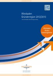 Dokumentation: Wiesbaden Gründerregion 2012/2013