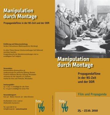 Manipulation durch Montage - Landeszentrale für politische Bildung