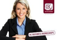IIC Business workshops