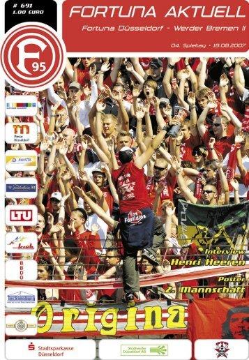 Fortuna Düsseldorf II Saison 2007/2008