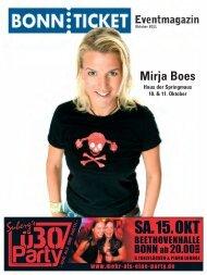 Mirja Boes - Bonnticket
