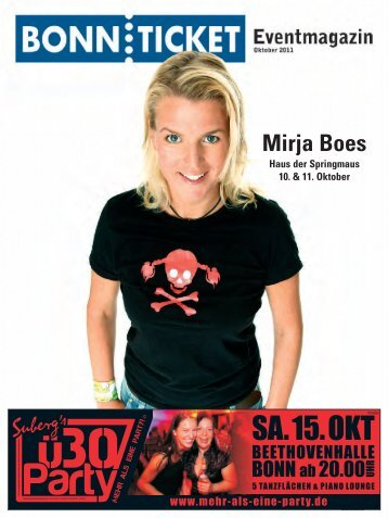 Mirja Boes - Bonnticket