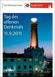 Tag des offenen Denkmals 2011 - Duftmuseum im Farina-Haus