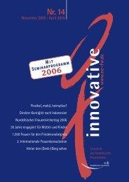 RZ INNOVATIVE 14/05 - Nordelbisches Frauenwerk