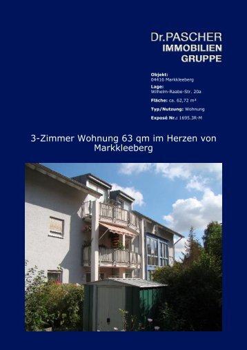 3-Zimmer Wohnung 63 qm im Herzen von Markkleeberg