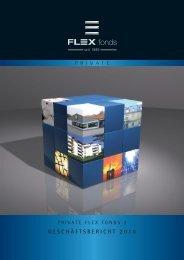GESChäftSbEriCht 2010 - FLEX Fonds
