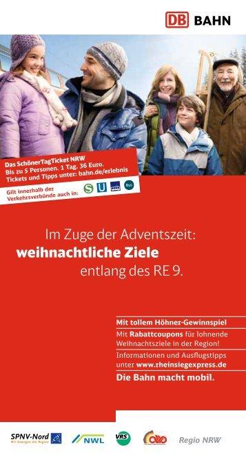 Ausflugsflyer Nr. 2 herunterladen! (PDF, 4.65MB) - Bahn