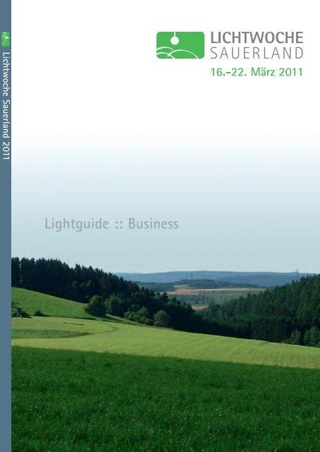 Lightguide Zur Euroshop Lichtwoche Sauerland