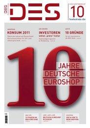 Geschäftsbericht 2010 - Deutsche EuroShop