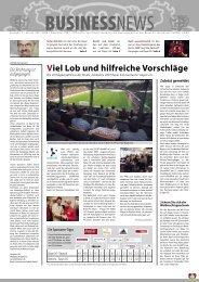 Viel Lob und hilfreiche Vorschläge - Bayer 04 Leverkusen