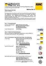 Stand: 07.03.2012 - ADAC