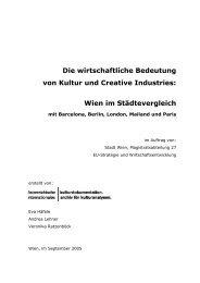 Die wirtschaftliche Bedeutung von Kultur und Creative Industries ...